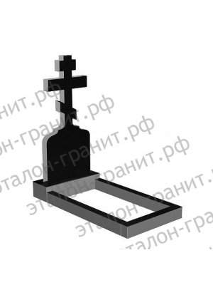Гранитный крест KR-012