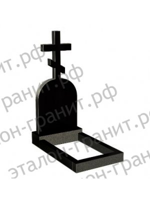 Гранитный крест KR-007