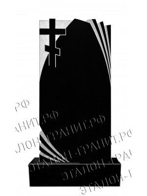 Гранитный памятник одинарный PO-021