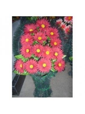 Корзина из искусственных цветов 45