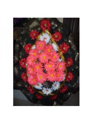 Венок из искусственных цветов 81