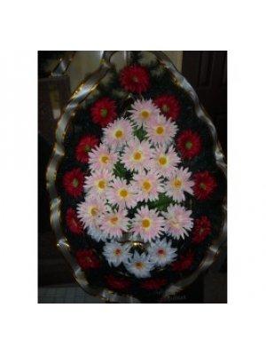 Венок из искусственных цветов 82