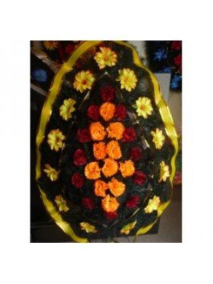 Венок из искусственных цветов 83
