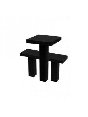 Гранитные стол и лавочка GSL_01