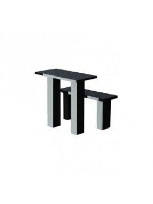 Гранитные стол и лавочка GSL_03