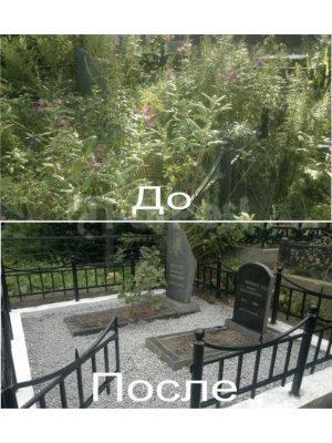 Уход за могилами 02