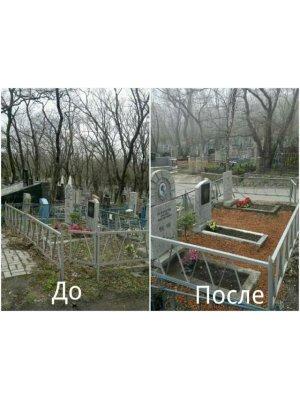 Уход за могилами 04